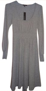 The Limited short dress grey on Tradesy