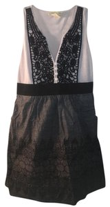 Other short dress black white grey on Tradesy