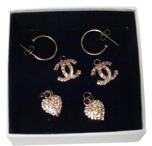 Chanel CHANEL 2002 cruise Collection Double Charm Earrings