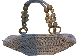 Sun N Sand Classic Straw Vintage Retro Beaded Shoulder Bag