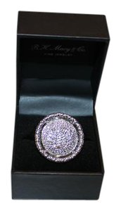 John Hardy John Hardy Large Round Diamond Ring