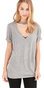Truly Madly Deeply T Shirt Grey Heather