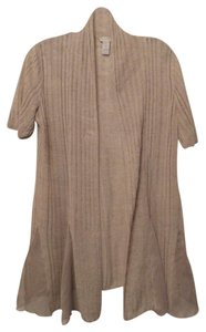 Chico's Long Light Linen Medium Cardigan