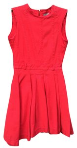 Preen by Thornton Bregazzi short dress Red Line Pleated Fit And Flare Fitted Full Skirt on Tradesy