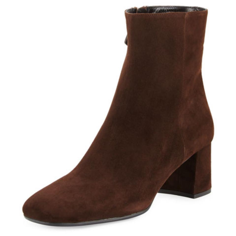 LADY Ankle Prada Brown Tapered-toe Ankle LADY Boots/Booties Crazy Price, Birmingham 77172e