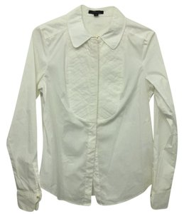 Rachel Zoe Button Down Shirt white