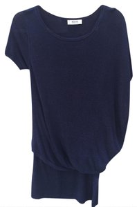Moschino short dress navy Asymmetrical Fitted Blouson Short Sleeves Cheap And Chic on Tradesy