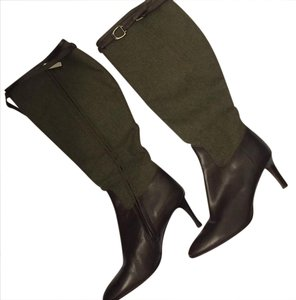 Ralph Lauren Collection Brown & Olive Boots