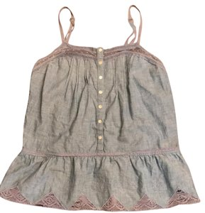 Lucky Brand Top chambray