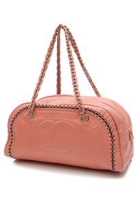 Chanel Satchel in Salmon pink