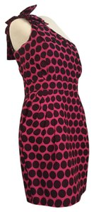 French Connection Sexy Polka Dot Bachelorette Party One Shoulder Dress