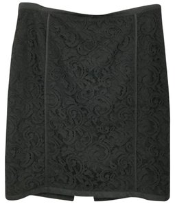 Banana Republic Black Lace Skirt