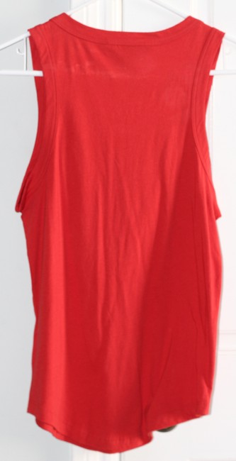 Marc by Marc Jacobs Buttons Summer Ruffles Top Red Image 2