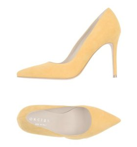 Orciani yellow Pumps