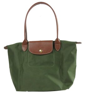 Longchamp Le Pliage Tote in Brand New Khaki