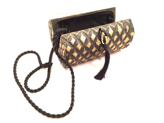 Timmy Woods Of Beverly Hills Designer Box Golden Clutch Clutch Box Designer Shoulder Strap Designer Talkingfashion Cross Body Bag