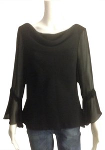 Sandra Darren Top Black