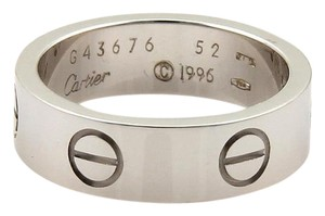 Cartier CARTIER LOVE WHITE GOLD RING EU SIZE 50 US SIZE 5.25