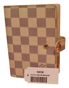 Louis Vuitton Louis Vuitton Damier azur Agenda PM Notebook Cover