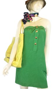 Twelfth St. by Cynthia Vincent short dress green on Tradesy
