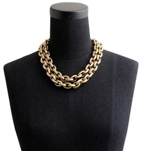 J.Crew Double-Chain Mini-Link Necklace