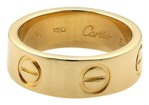 Cartier Cartier Love 18k Yellow Gold 5.5mm Band Ring Size EU 46-US 3.5