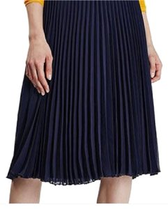 Topshop Skirt navy blue