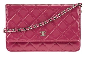 Chanel Woc Patent Wallet On Chain Classic Flap Cross Body Bag
