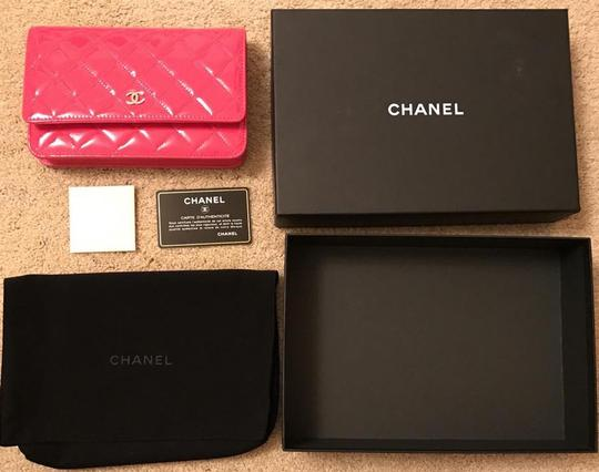 Chanel Wallet Chain Woc Patent Cross Body Bag Image 10