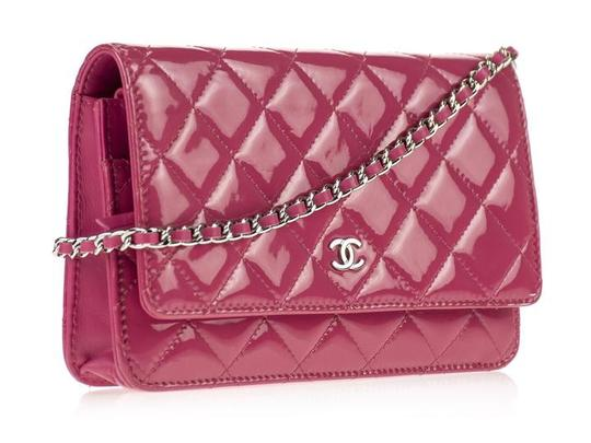 Chanel Wallet Chain Woc Patent Cross Body Bag Image 2