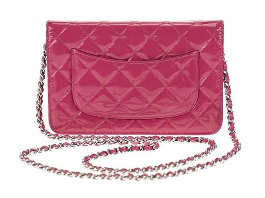 Chanel Wallet Chain Woc Patent Cross Body Bag Image 4