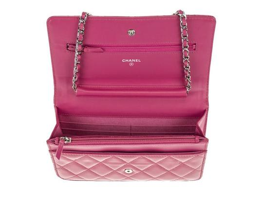 Chanel Wallet Chain Woc Patent Cross Body Bag Image 5