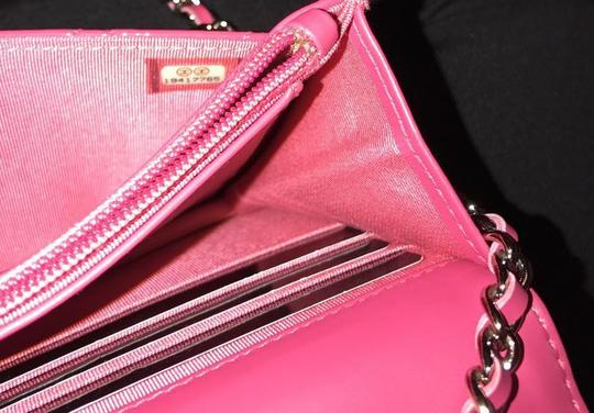 Chanel Wallet Chain Woc Patent Cross Body Bag Image 6