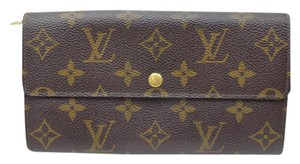 Louis Vuitton Louis Vuitton Long Wallet Brown Monogram 10354