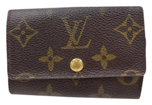 Louis Vuitton Louis Vuitton Key Case Multicles 6 Brown Monogram 10355