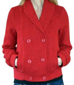 Billabong Double Breasted Red Blazer