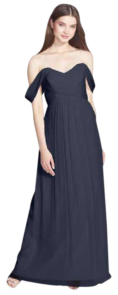 Amsale Ruby Convertible Crinkled Silk Chiffon Gown Long Formal Dress ...