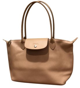 Longchamp Tote in light nude