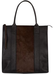 AllSaints Tote in black & brown