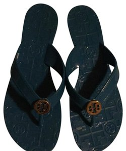 Tory Burch royal blue Sandals