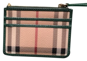 Burberry BURBERRY HAYMARKET ZIP COIN CARD HOLDER