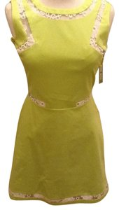 Giabinni short dress lime green on Tradesy