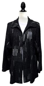 Other Lagenlook Layering Designer Wool Blend Abstract Tunic