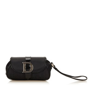 Dior 7qdrcl087 Black Clutch