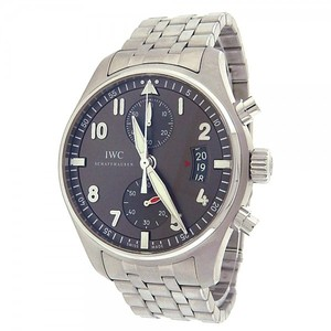 IWC IWC Spitfire Chronograph IW387804 Stainless Steel Automatic Grey Men's