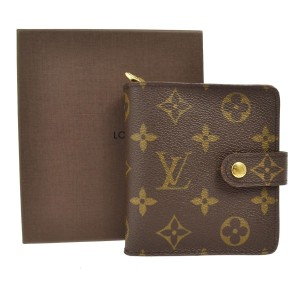 Louis Vuitton LV Monogram Zip Bifold Wallet