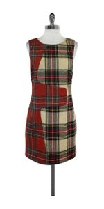 Rag & Bone short dress Plaid Wool Sleeveless on Tradesy