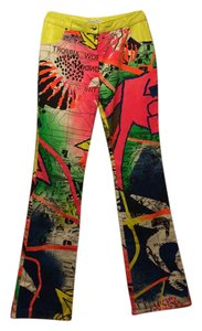 Dior Straight Pants multi color