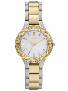 DKNY DKNY Women's Two Tone Mother of Pearl Watch NY8742