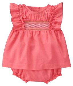 Janie and Jack short dress Coral Pink on Tradesy
